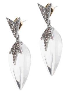 Alexis Bittar Crystal Framed Cushion Leverback Earring fNGtEOHY4