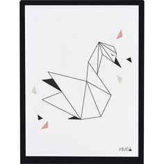 Un graphisme minimaliste, des coloris élégants et apaisants. Le corail, teinte entre le rose et l'orangé, apporte luminosité et douveur au noir.