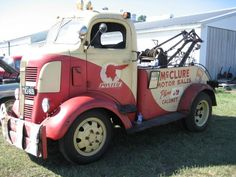 1937 GMC COE Tow Truck.