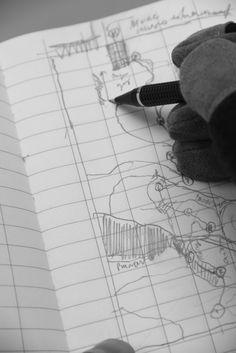 Traslaciones topográficas de la Biblioteca Nacional | Jorge Mendez Blake
