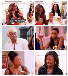 Kenya is such a mess. Real Housewives of Atlanta.
