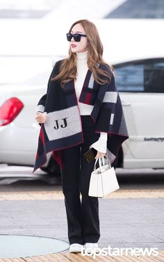 170216 Jessica Jung @ Incheon Airport by topstarnews
