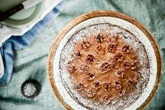 Švýcarský ořechovo-čokoládový koláč