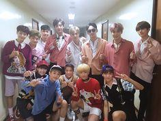 [Vyrl] EXO : 지난주엔 #NCT127 과 함께, 이번주엔 #NCT_DREAM 과 함께 우리 #엑소 멤버들, 든든하고 멋진 선배가 되었어요 :