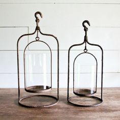 Industrial Lantern Candle Holder