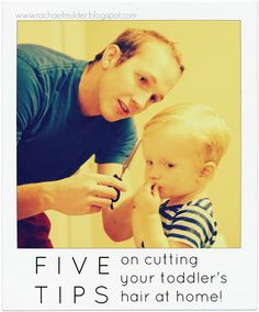 Five Practical Tips on cutting your toddler's hair at home