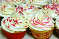 Vanilla  Buttercream Frosting (From Sprinkles Cupcakes): Up the delicious factor on your favorite cupcakes with this decadent frosting