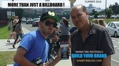 ##freeservice along with your #billboard we #handout your #marketingmaterials #promotionalproducts and #wearing your  #brandclothing now that's a #billboard #barrie #orrilla #midland your #brand #downtownbarrie #summertime it's  a  whole new world #retaillife #itsamazingoutthere #try #somethingdifferent