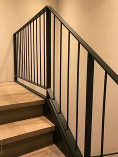 The Next Level: 14 Stair Railings to Elevate Your Home Design Stunning Ideas for a staircase railing with glass exclusive on homesaholic home decor Best Picture For cozy balcony For Steel Stair Railing, Modern Stair Railing, Balcony Railing Design, Steel Stairs, Metal Railings, Staircase Railings, Modern Stairs, Staircase Design, Stairways