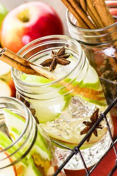 Apple Cinnamon Water Detox Recipe Drink Recommended By Dr Oz, Produces Weight Loss, Tons Of Benefits & Results. The Best Infused Water Recipe.
