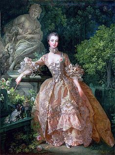 Title: Madame de Pompadour, 1759 Artist: Francois Boucher Medium: Canvas Art Print - Giclee