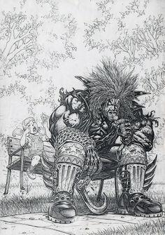Lobo by Greg Luzniak *