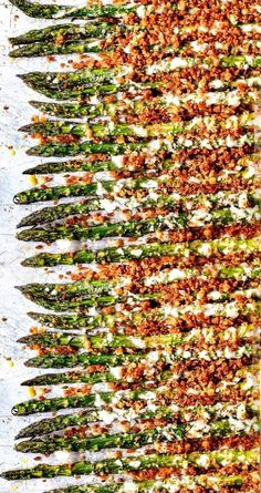 20 Of The Best Vegetarian Asparagus Recipes is part of food_drink - Having cravings for asparagus while adopting vegetarian diet Congratulations! There are a lot of delicious vegetarian asparagus recipes for you to try Vegan Asparagus Recipes, Oven Baked Asparagus, Roasted Garlic Asparagus, Parmesan Asparagus, Asparagus And Mushrooms, Asparagus Fries, Asparagus Pasta, Roasted Cauliflower, Asparagus Casserole