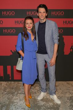 Alice Dwyer Photos - Alice Dwyer and Sabin Tambrea at the HUGO Launch Party with live performance by Liam Payne at Wriezener Karree on July 2019 in Berlin, Germany. - HUGO Launch Party With Liam Payne In Berlin Launch Party, Berlin Germany, Celeb Style, Liam Payne, Alice, Product Launch, Celebs, Shirt Dress, Photos