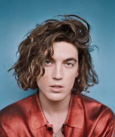 Paul Klein Cleo Glover for Wonderland Magazine Beautiful Boys, Pretty Boys, Beautiful People, Curly Hair Men, Curly Hair Styles, Lany Band, Rihanna, Paul Jason Klein, Paul Jackson