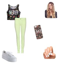 """""""Untitled #103"""" by lovatic-for-life ❤ liked on Polyvore featuring Chicnova Fashion, 7 For All Mankind, No Name and With Love From CA"""