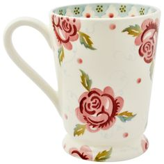 Personalised Rose & Bee Cocoa Mug 2016 & 2017