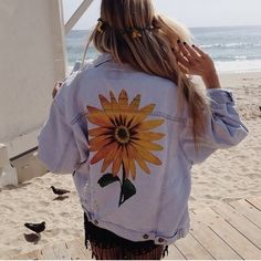 LF Jeans - ⚡️Flash Sale⚡️ LF Sunflower Jean Jacket