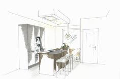 SieMatic keukenontwerp in de stoere en levendige Urban stijl voor het nieuwbouwproject De Vrije Kade in Amsterdam | Meubelbar