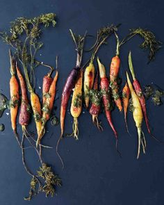 Perfect Bite: Roasted Carrots with Chimichurri