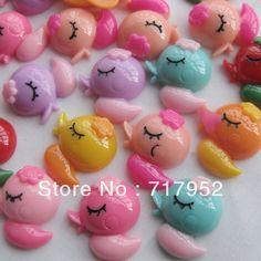 100 Pcs Mix Duck Resin Flatback Buttons Craft DIY Scrapbooking Appliques JCN110 $14.99