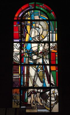 Untitled | Window by Georg Meistermann