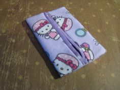 Purse Size Tissue Holder.  Travel Size Kleenex Holder. Hello Kitty.. $5.00, via Etsy.