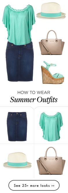 """""""Summer Outfit #1"""" by modestfashions99 on Polyvore"""