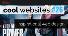 Once again we present you a round-up of beautiful and inspirational website designs.Great deal for.