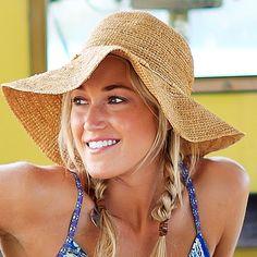 such a cute beach hat by Athleta