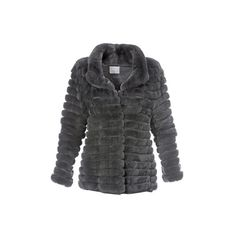 Fur jacket, wool cashmere (186445 RSD) ❤ liked on Polyvore featuring outerwear, jackets, cashmere jacket, woolen jacket, pocket jacket, wool knitwear and fur jacket