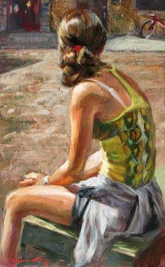 M% C3% B2nica + Castanys 1973 + - + + impressionniste espagnol + Figuratif + peintre + - + Tutt% 27Art @ + (17)