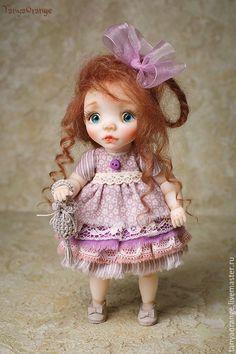 Handmade doll / Яночка 18см - малышка, кукла ручной работы, кукла, авторская кукла, кукла в подарок