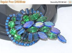 Hey, I found this really awesome Etsy listing at https://www.etsy.com/listing/500810500/sale-vintage-kramer-rhinestone-brooch