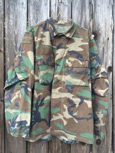 Vintage Military Coat Jacket - Size Medium (but fits more like a... #CafeMotique #ColoradoSprings #vintagelifestyle #caferacer #vintagemoto