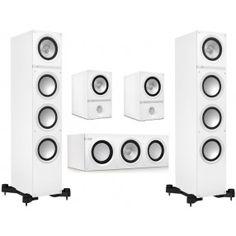 KEF Pack 5.0 Q500 + Q200C + Q100 White