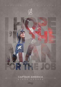 THE AVENGERS - Fan Made Quotable CharacterPosters - News - GeekTyrant