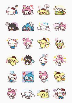 Cute Animal Drawings, Kawaii Drawings, Cute Drawings, Kawaii Stickers, Cute Stickers, Cute Wallpaper Backgrounds, Cute Wallpapers, Cartoon Pics, Cute Cartoon