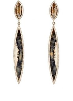 Monique Péan Atelier Double Drop Earrings at Barneys New York