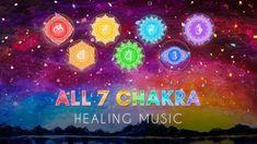 All 7 Chakras Healing Music | Full Body Energy Cleanse | Root Chakra to Crown Chakra Chakra Healing Music, Chakra Healing Meditation, Meditation Music, Seven Chakras, 7 Chakras, Sacral Chakra, Chakra Cleanse, Aura Cleansing, Music Heals