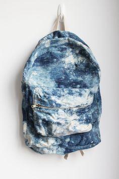 ↠{@AlinaTomasevic}↞ :Pinterest <3   Blue Galaxy Back Pack