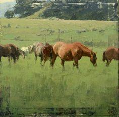 Michael Workman oil painting