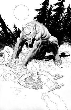 Werewolf - Frank Cho
