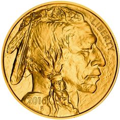2016 American Gold Buffalo (BU)
