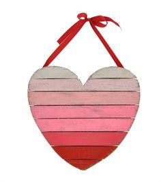 Valentine's Day Heart Wall Decor-Ombre