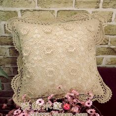 El envío gratuito de 2014 nuevos ZAKKA algodón encaje de crochet confección de la funda de almohada almohada almohada toalla con flores en la Frontera de casa y jardín en AliExpress.com | Alibaba Group