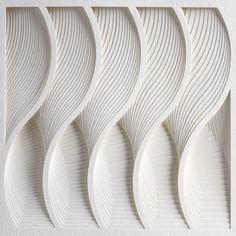 Waves Process Series II by Matthew Shlian