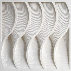 Waves  Process Series II by Matthew Shlian