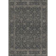 Vintage Eden – Graphite Brinker Carpets #vloerkledenloods #etnic #rugs