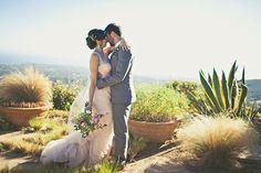 elegant rustic malibu wedding // via ruffledblog.com